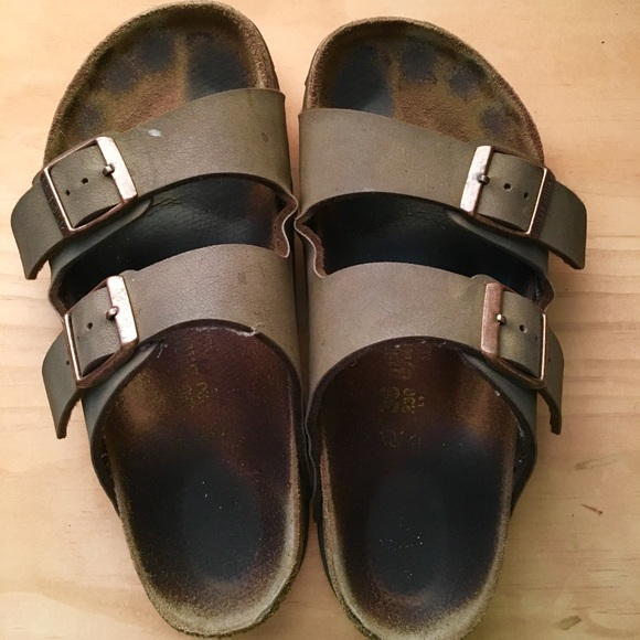 1061d78325c9 Birkenstock Shoes - Birkenstocks Arizona Birko-flor Nubuk (36